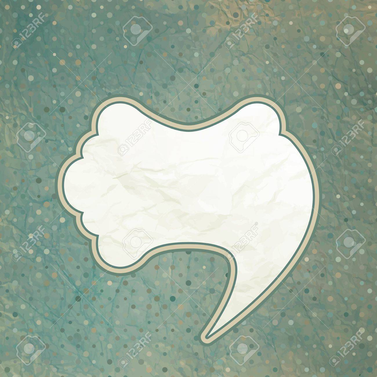 Vintage speech bubble design  EPS 8 Stock Vector - 13376186