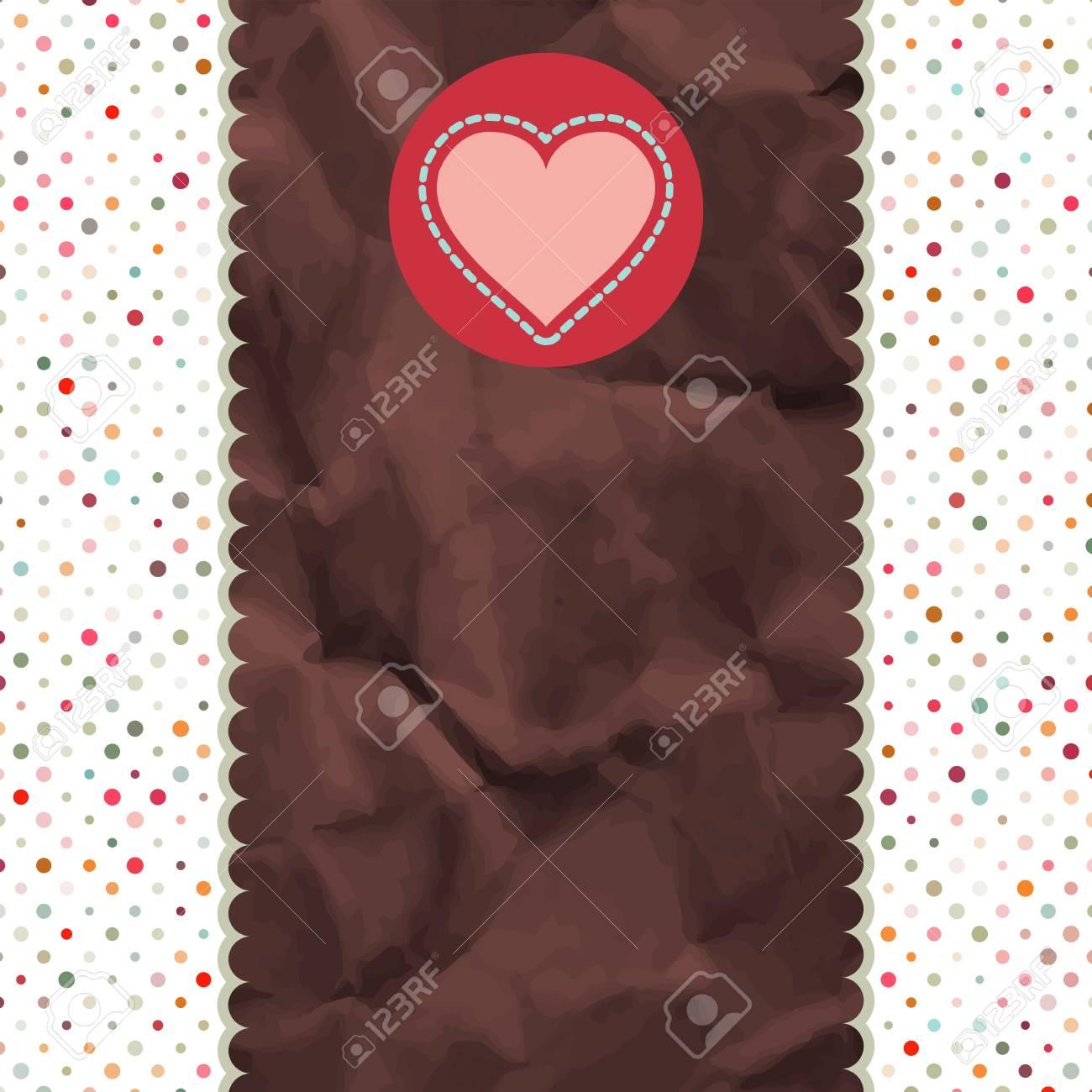Be My Valentine vintage Design retro  EPS 8 Stock Vector - 14737747