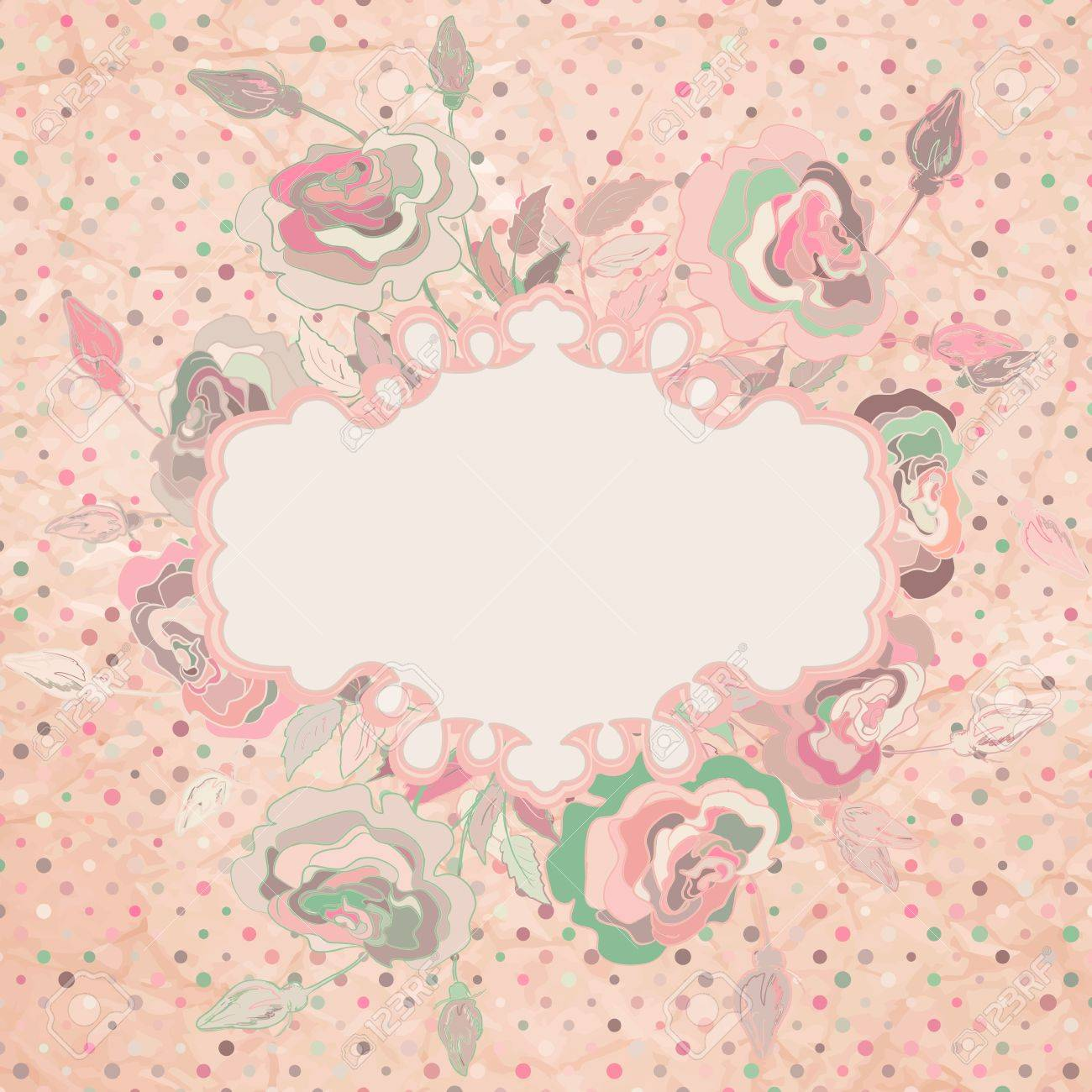 Stylish floral background  EPS 8 Stock Vector - 14923954