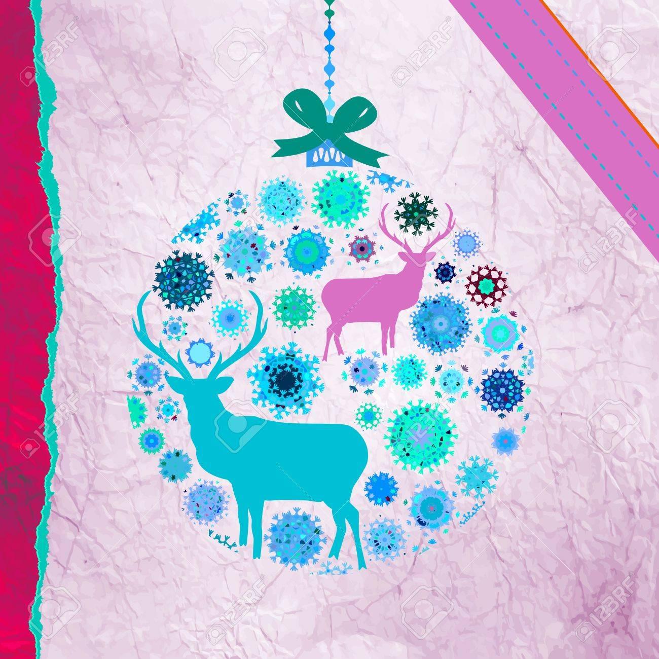 Christmas Invitation card template Stock Vector - 16388871