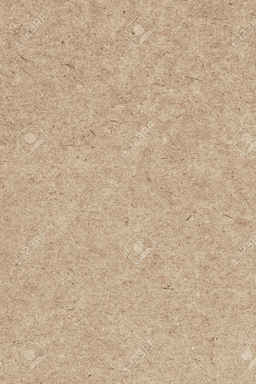 Photograph Of Recycle Light Brown Kraft Paper Extra Coarse Grain