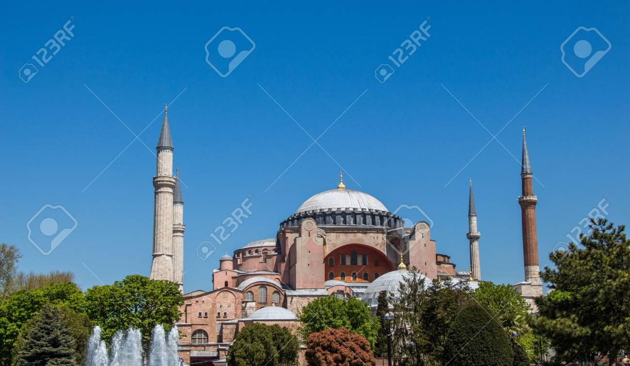 ハギア ・ ソフィア大聖堂、世界有名な記念碑のビザンチン建築 の写真 ...
