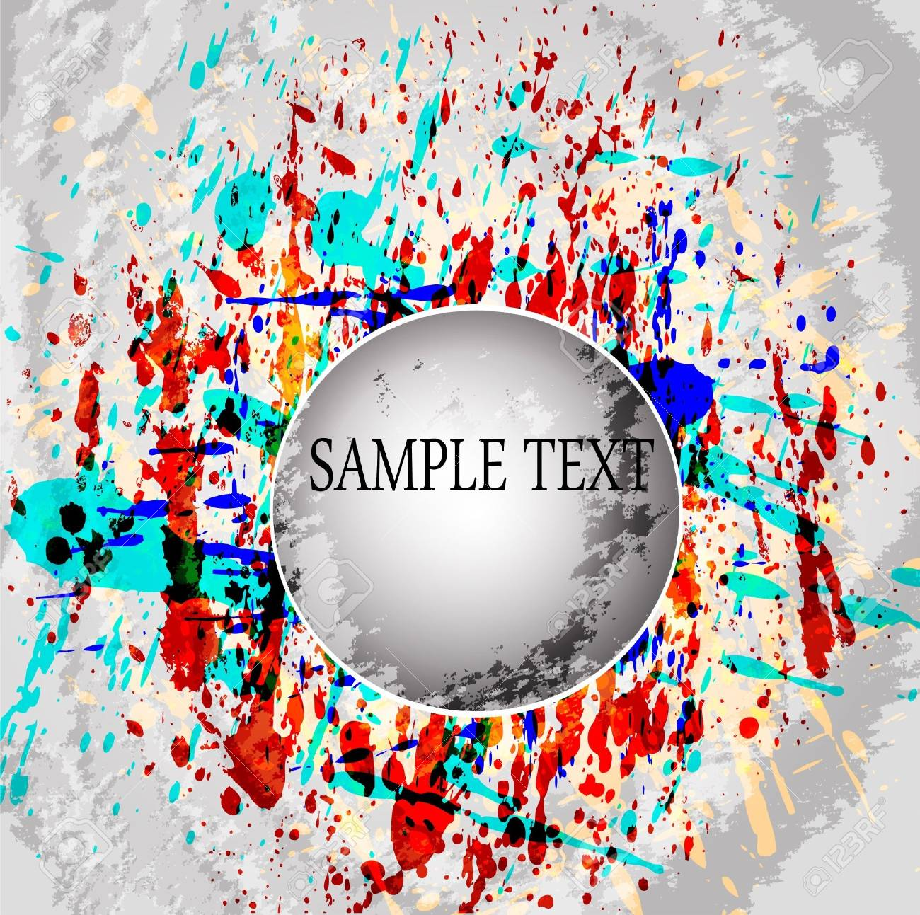 Abstract vector colorful mosaic background Stock Vector - 10227548