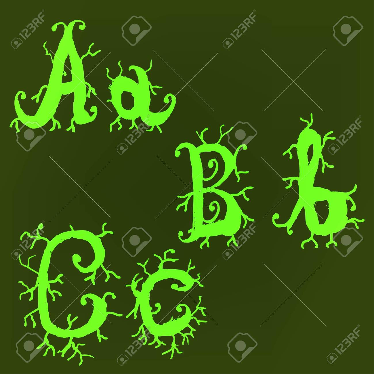 Vector alphabet. Stock Vector - 10227470