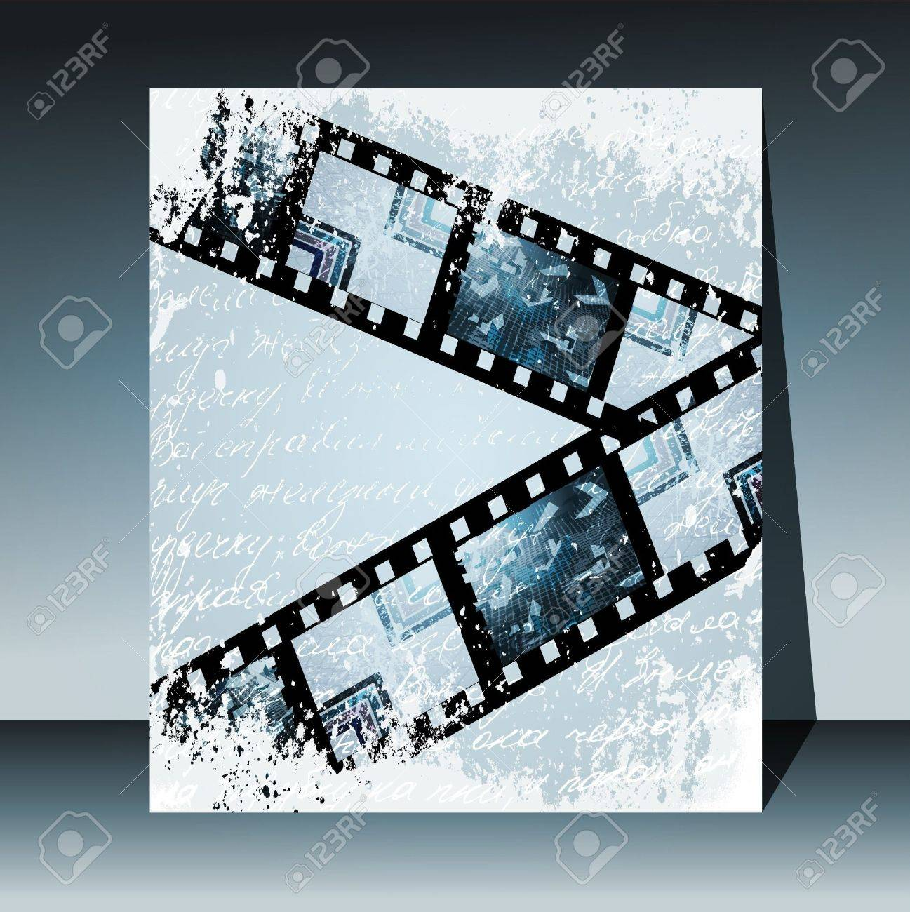 Grunge film for photo or video recording Stock Vector - 10776193