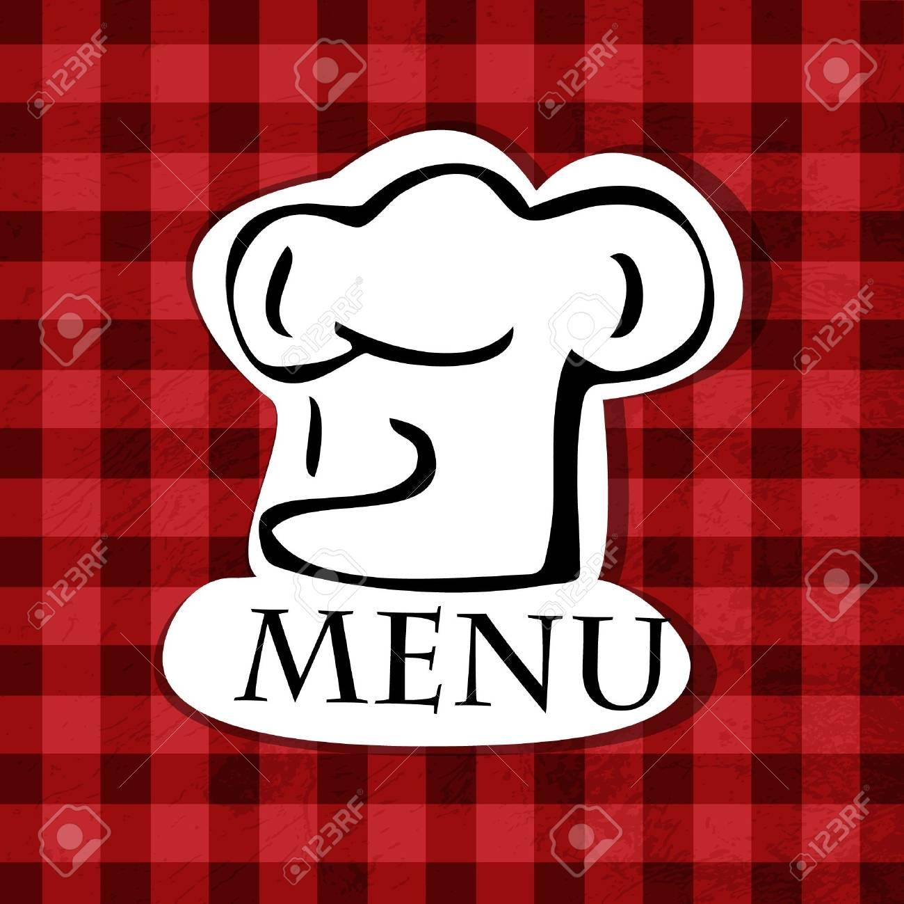 restaurant menu design Stock Vector - 12658643
