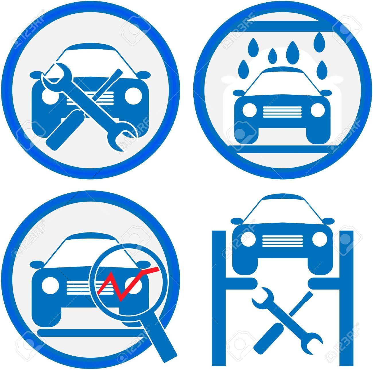 car service icon Stock Vector - 12983913