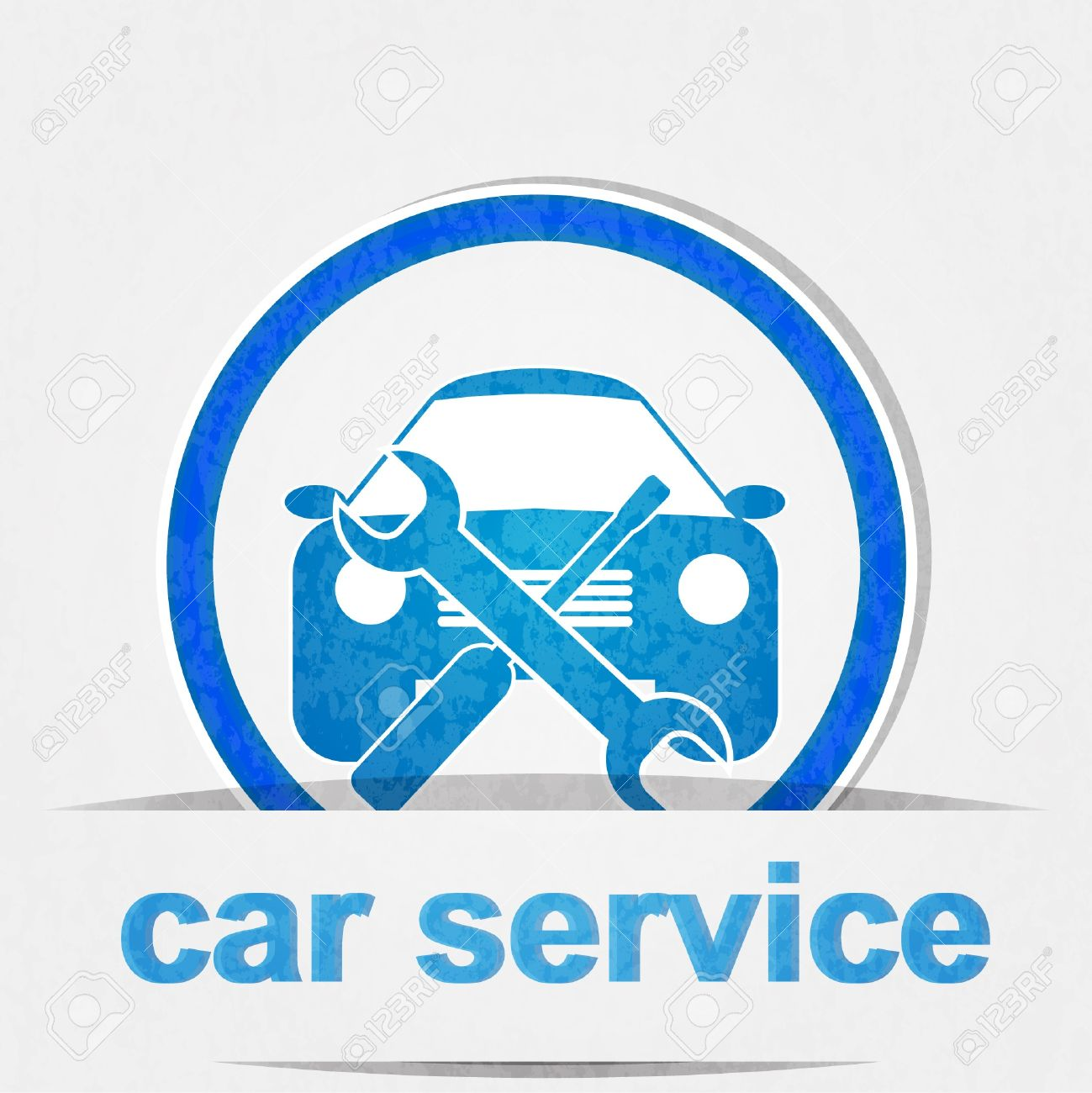 car service icon Stock Vector - 12983926