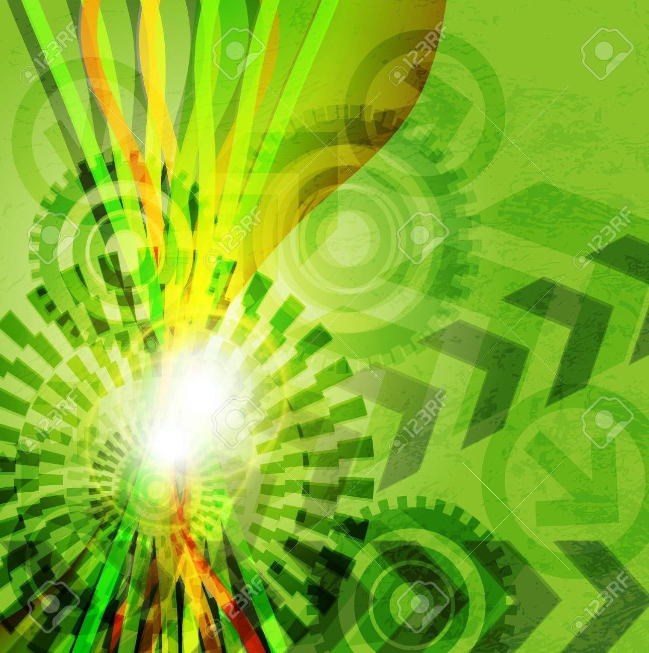 Arrow abstract  background. Stock Vector - 14151722