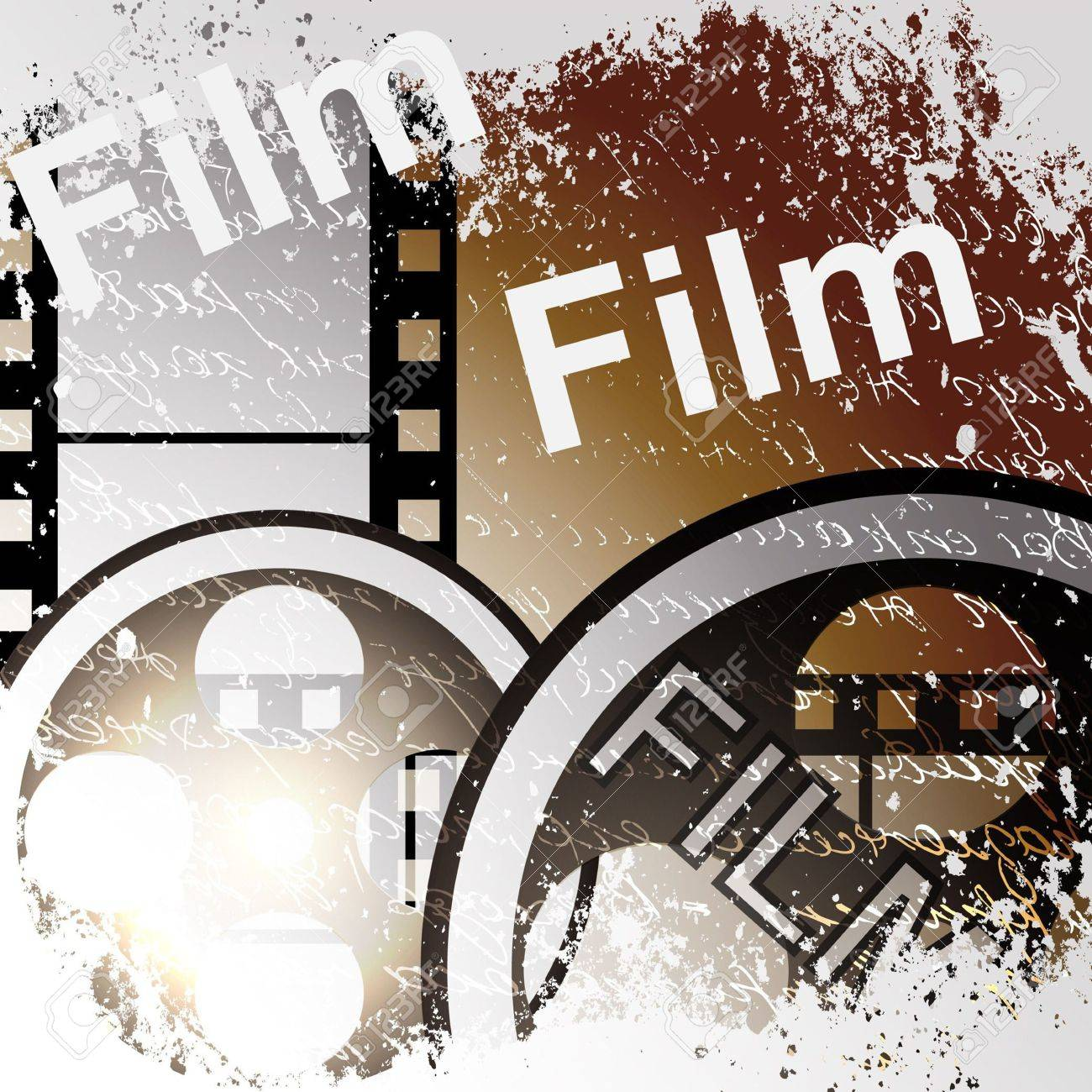 Grunge film for photo or video recording Stock Photo - 16168943