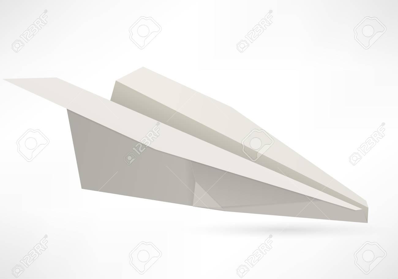 vector paper aircraft Stock Photo - 16538838