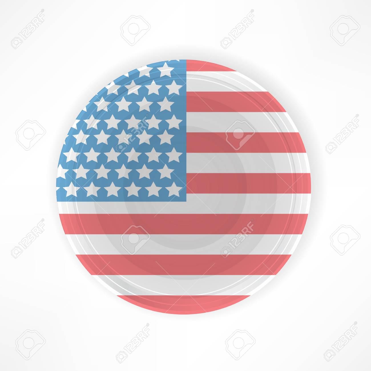 Traditional American Restaurant Stock Vector - 17945574
