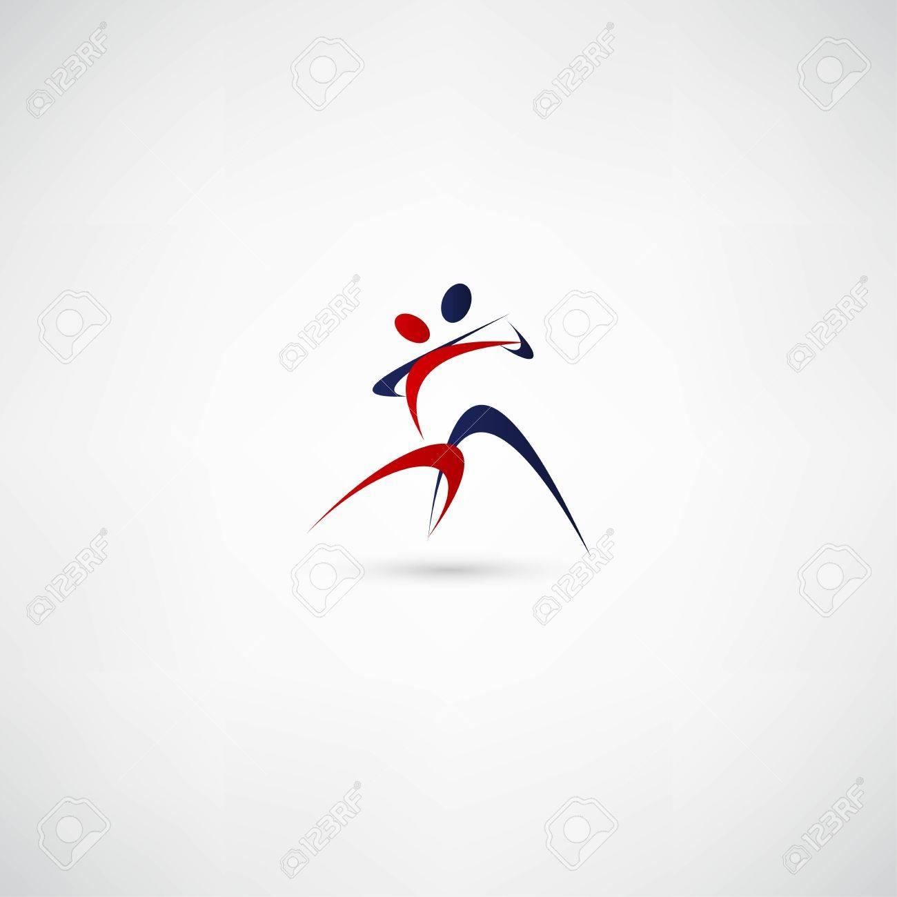 dancer icon Stock Vector - 21993453