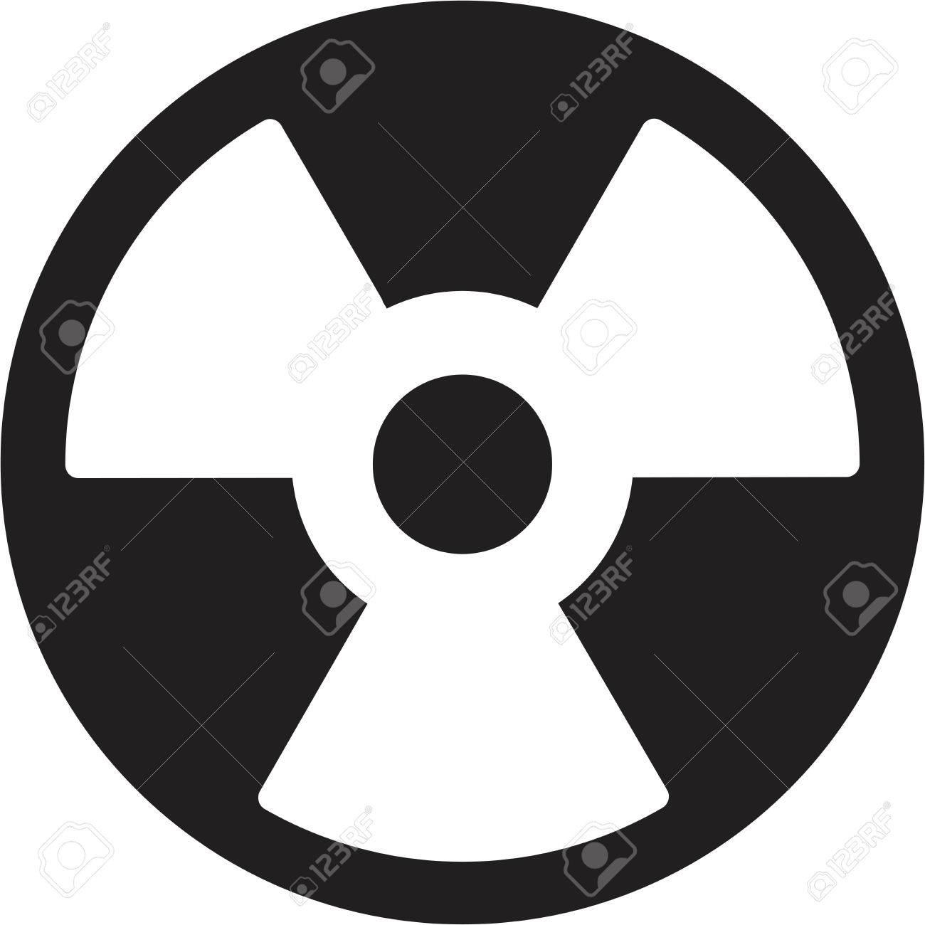 Vector radiation symbol Stock Vector - 24586658