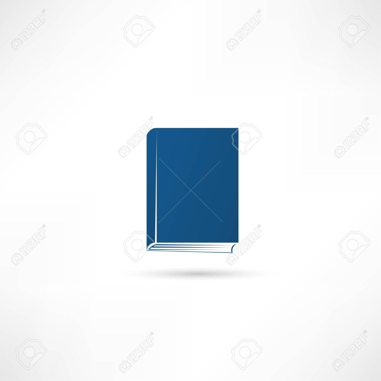 book icon Stock Vector - 25018531