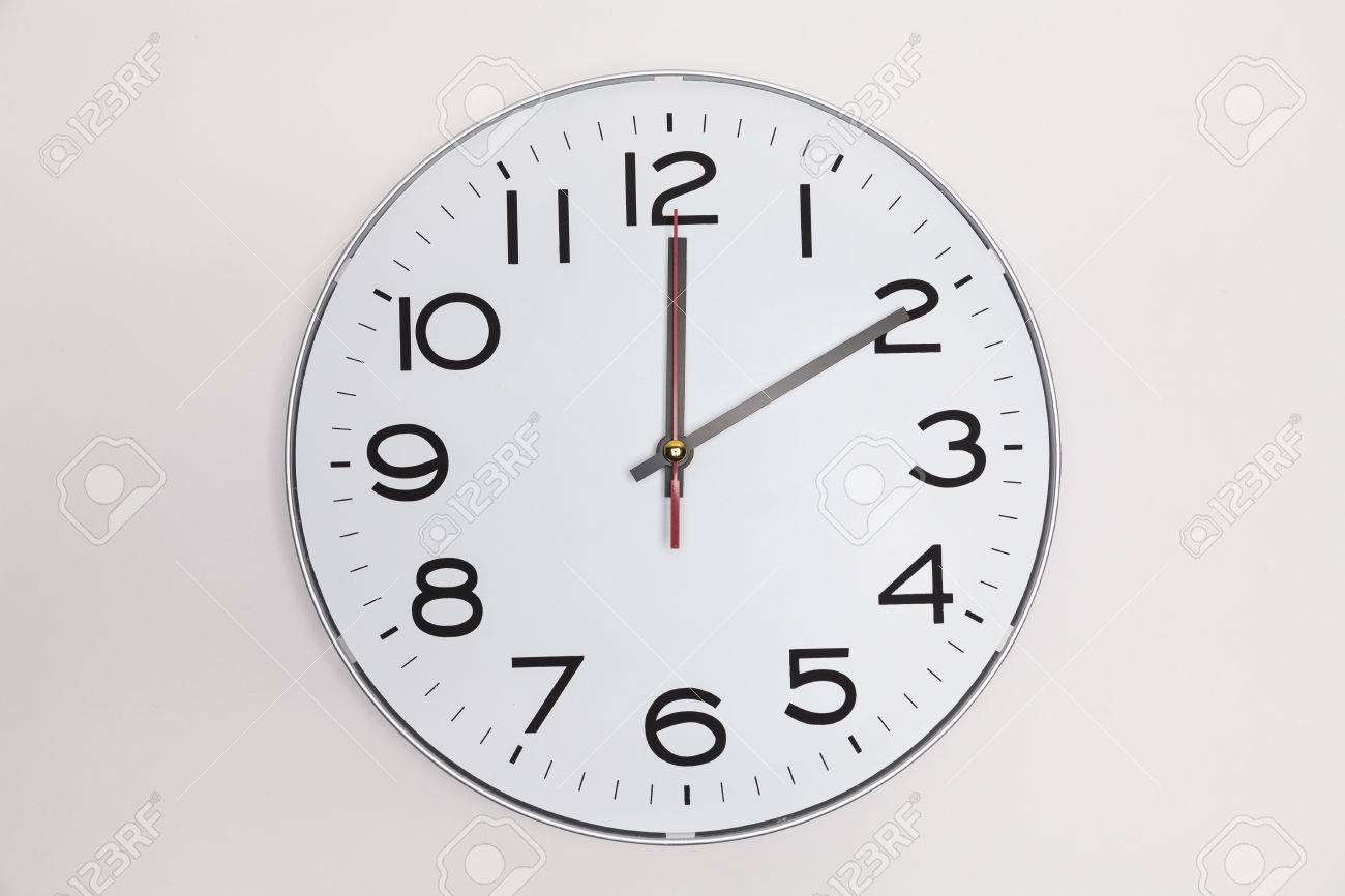 10 minutes after 12 stock photo 62354571