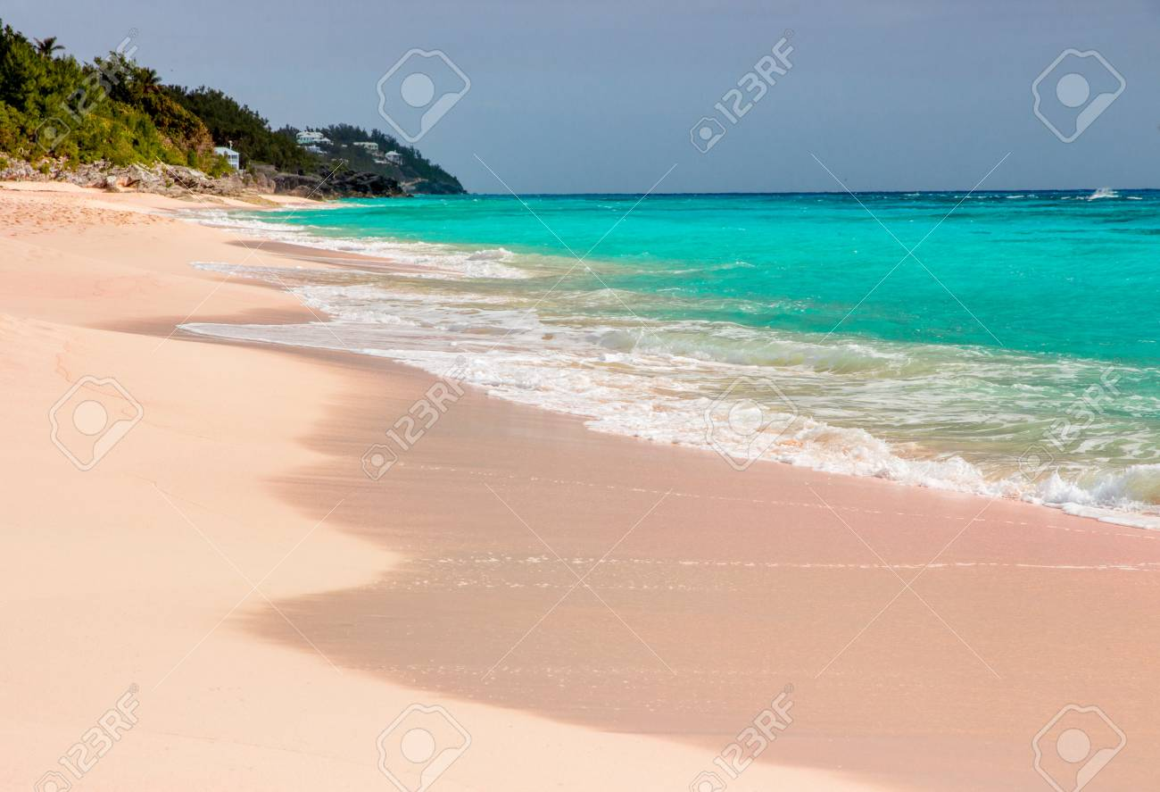 Sand Beach Bermuda In Pink Sand In Sand Beach Pink Bermuda In Beach Pink BoWrCedQx