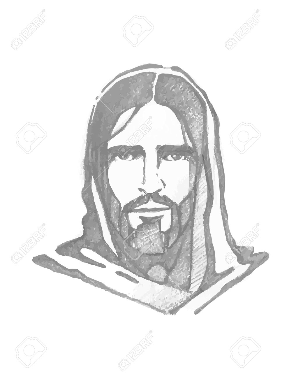 Jesus Face Outline Sketch Wiring Diagrams Electronic Timing Circuit Get Domain Pictures Getdomainvidscom Stock Photos Royalty Free Images Rh 123rf Com Male