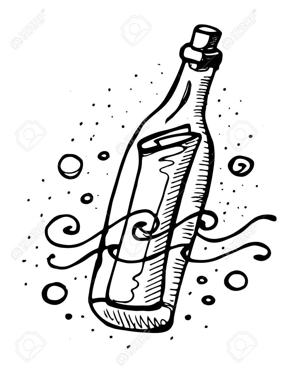Resultado de imagen de imagenes de mensaje en una botella