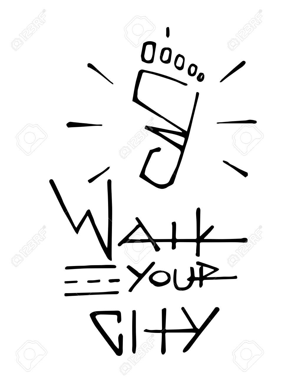 Dessin De Pied Humain illustration vectorielle dessinés à la main ou dessin d'un pied