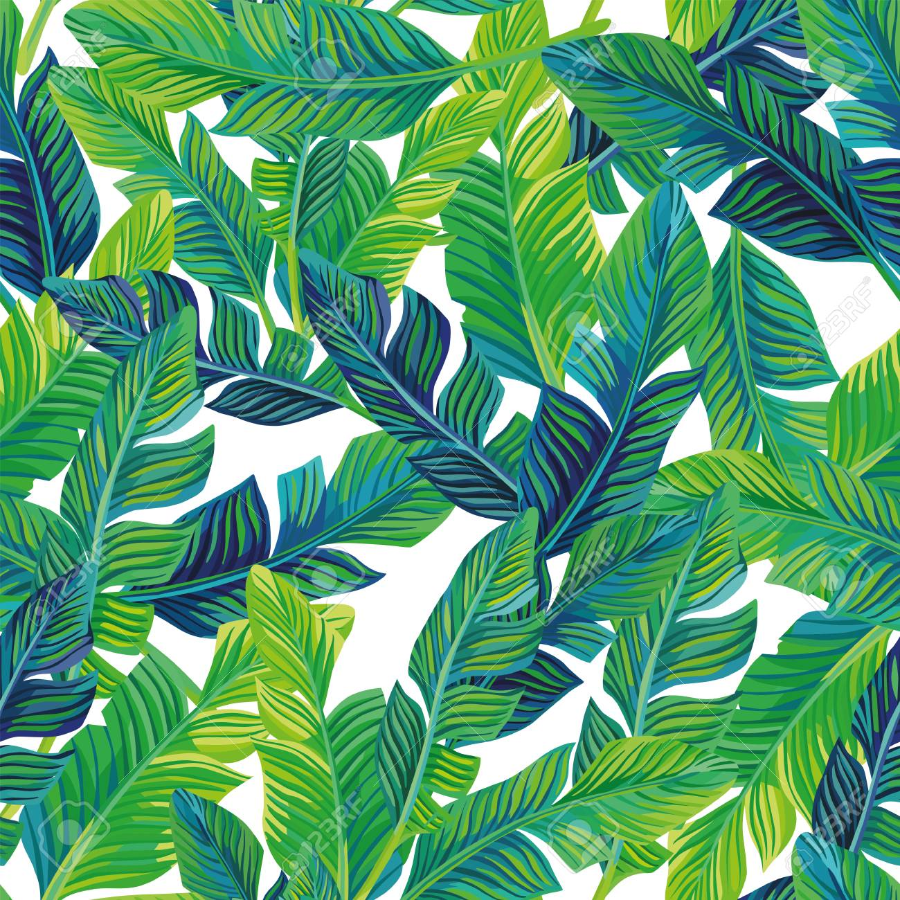 Tropical Palm Leaves Seamless Pattern Vector Background Exotic Royalty Free Cliparts Vectors And Stock Illustration Image 89127555 About 3% of these are 100% rayon fabric, 1% are 100% polyester fabric, and 0% are knitted fabric. tropical palm leaves seamless pattern vector background exotic