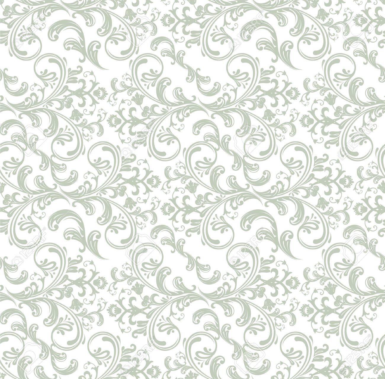 Damask pattern Stock Vector - 14865126