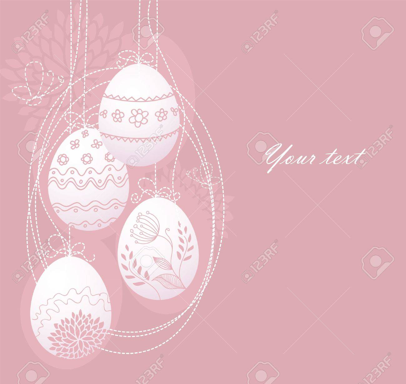 Vector illustration of Pic with eggs Stock Vector - 14864404