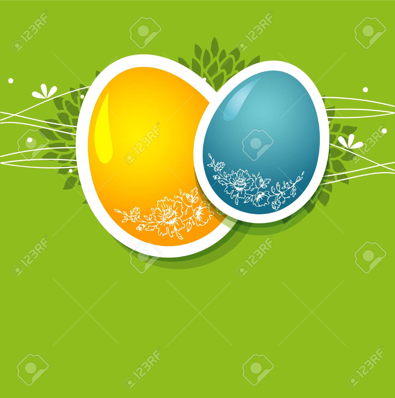 Vector illustration of Pic with eggs Stock Vector - 14863980