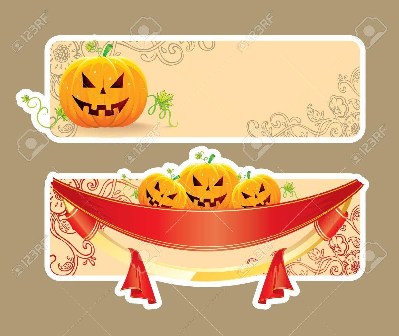 Vector illustration of Halloween back Stock Vector - 14867539