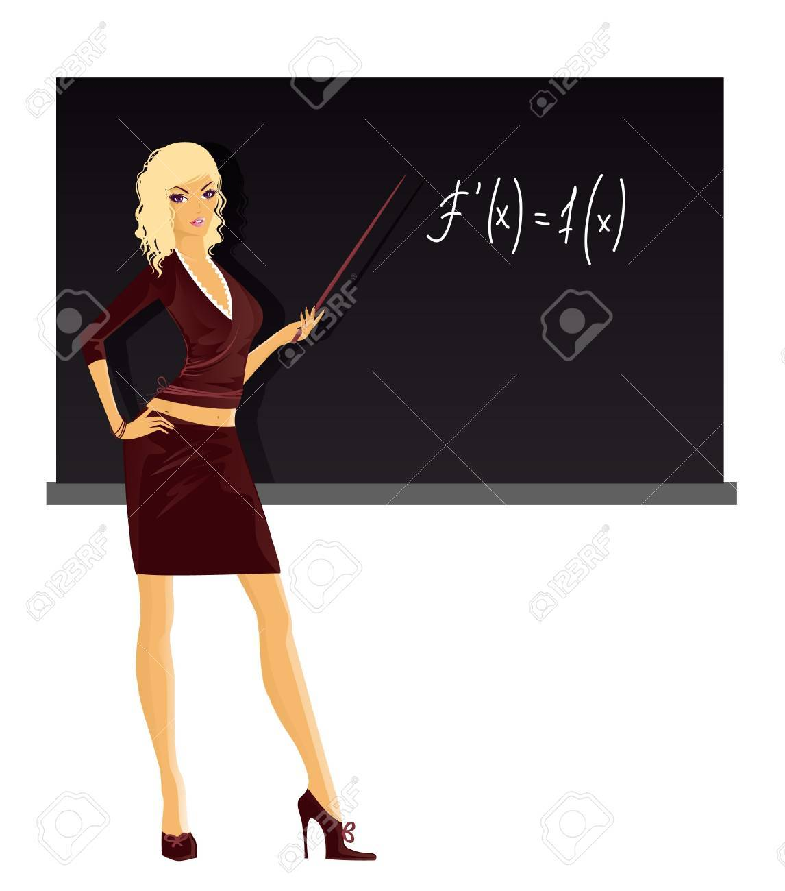 Teacher Stock Vector - 15229809
