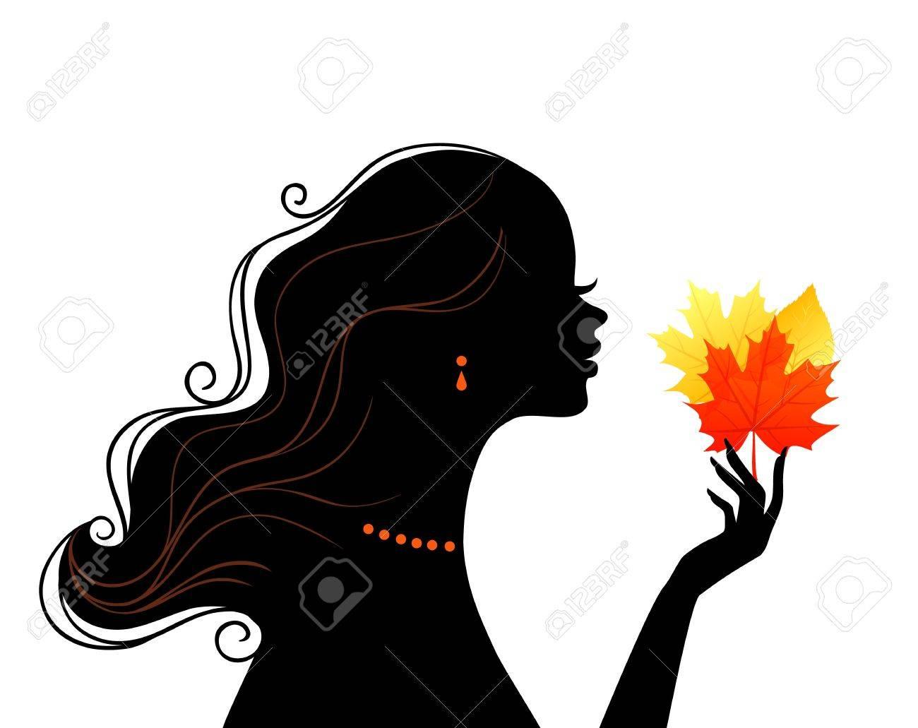 illustration of Beauty woman Stock Vector - 15507246