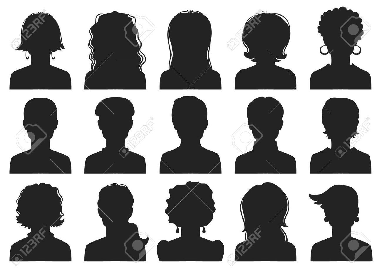 Man And Woman Avatars Royalty Free Cliparts Vectors And Stock Illustration Image 15569434