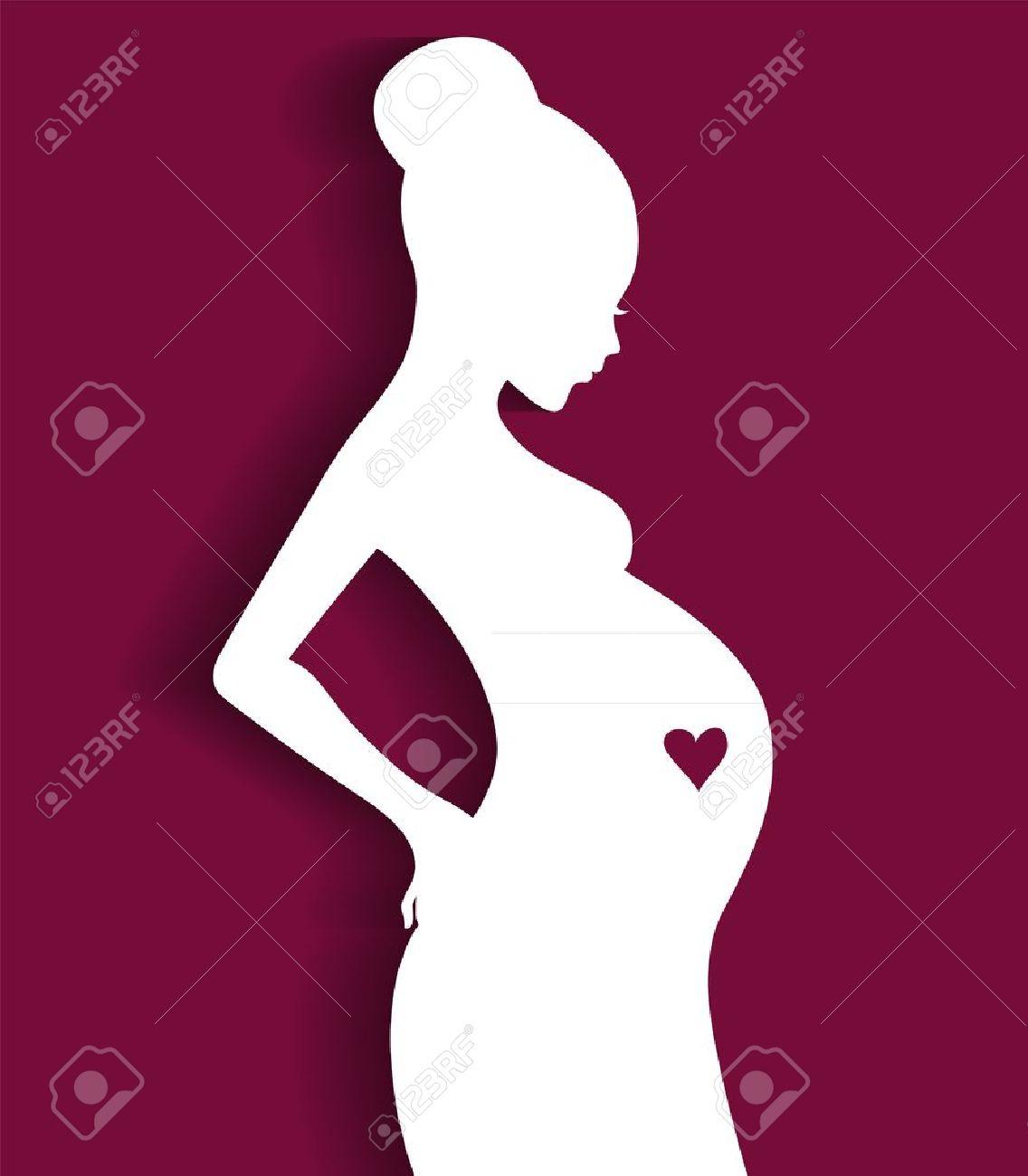 Эмбрион Беременная Женщина Изображения Рисунки