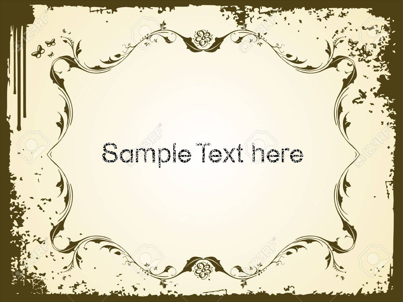 Sample Text Wallpaper Sample Text With Butterfly