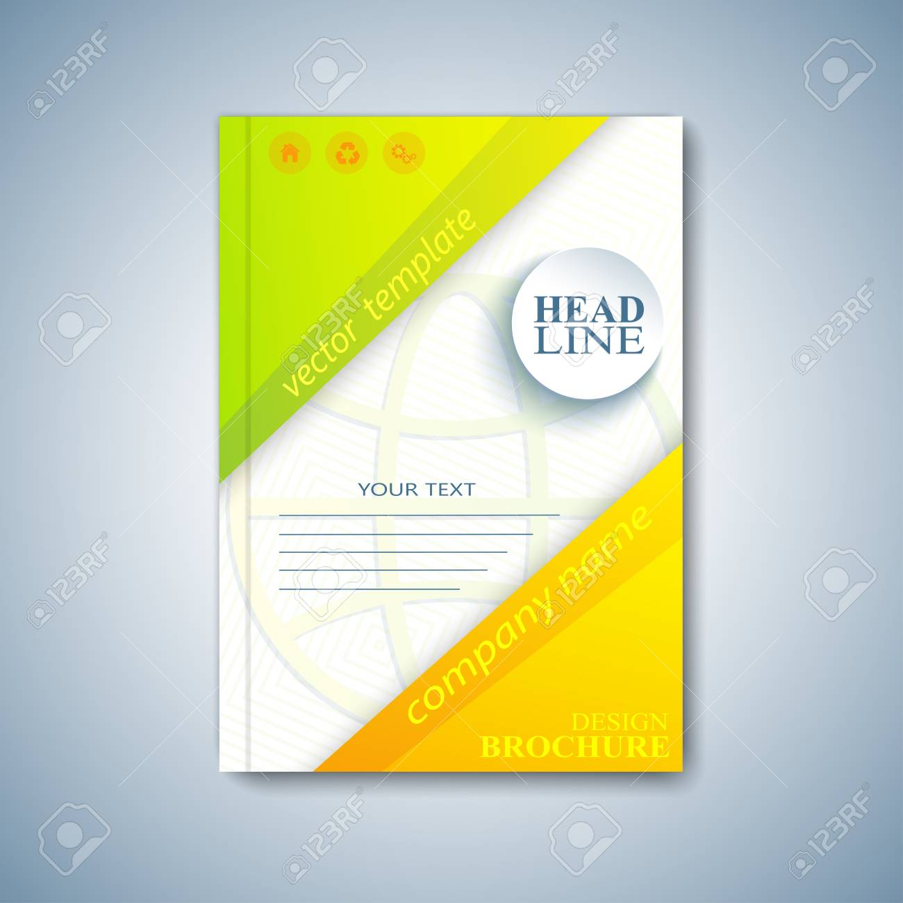 Modern Template Layout Brochure, Magazine, Flyer, Booklet, Cover ...