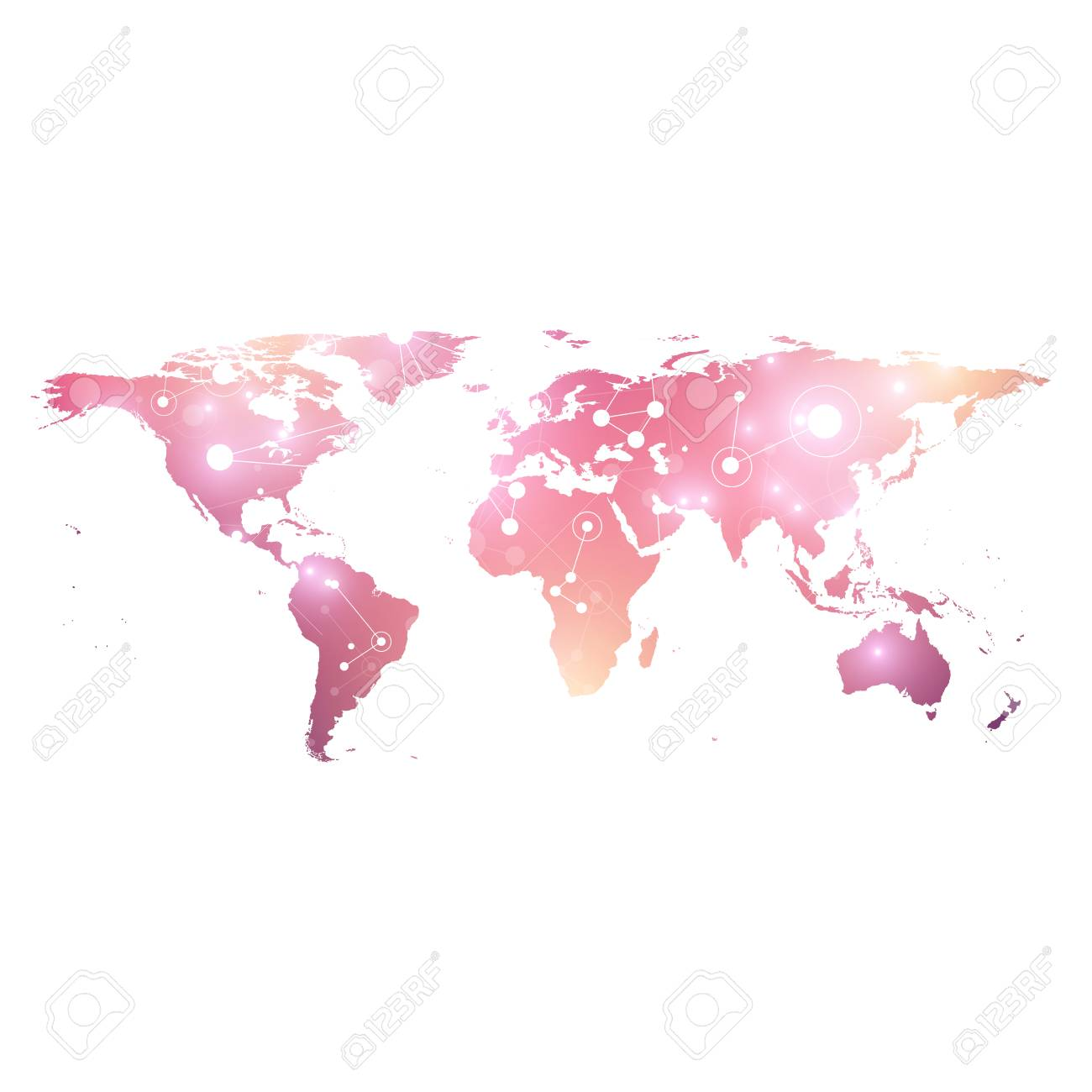 World map geometric graphic background communication big data world map geometric graphic background communication big data complex with compounds perspective graphic sciox Image collections