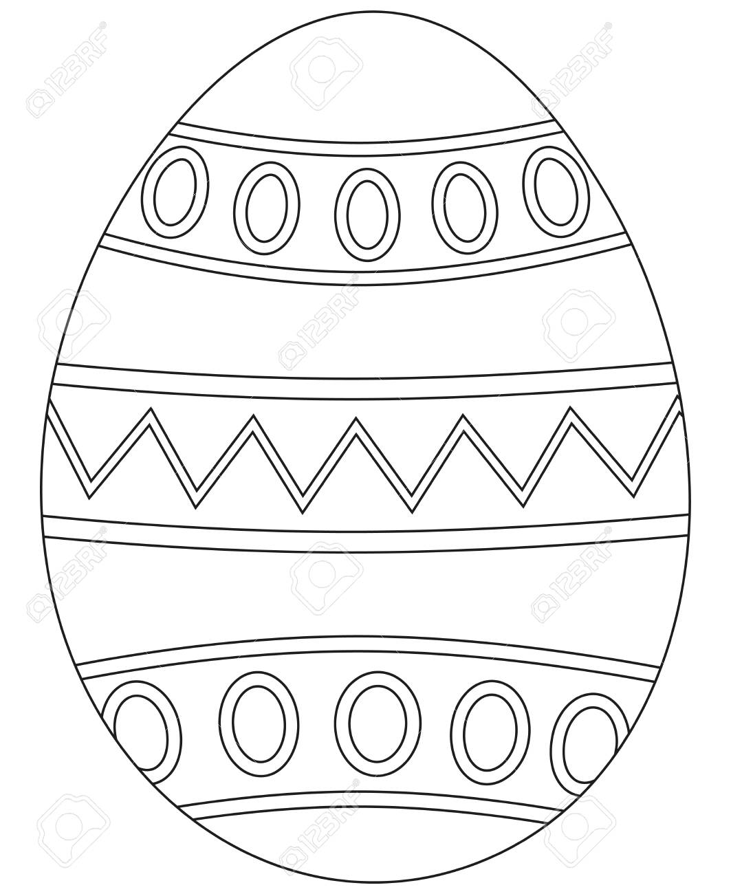 Easter Egg Coloring Book Azspringtrainingexperience