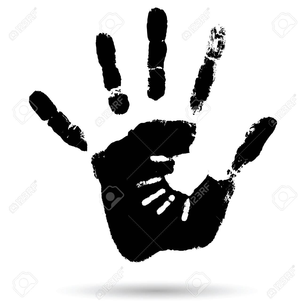 Fantastisch Hand Ausgeschnittene Vorlage Zeitgenössisch - Entry ...