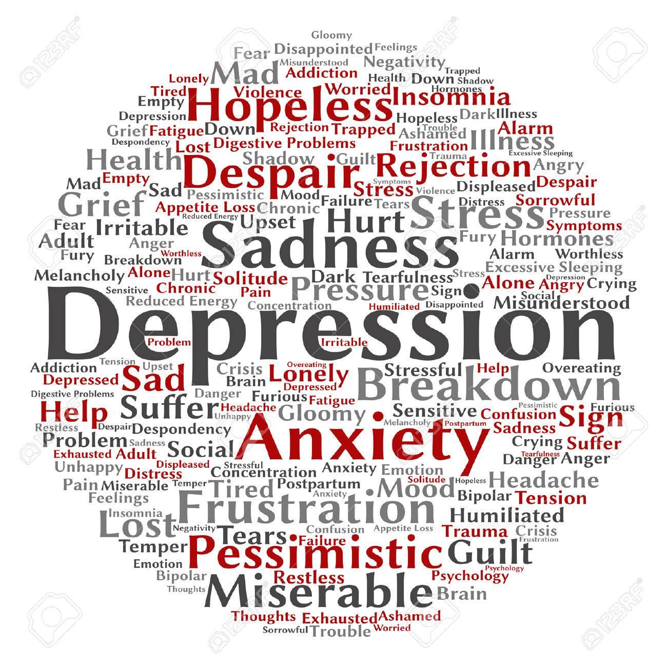 ベクトル概念 Depresion または...