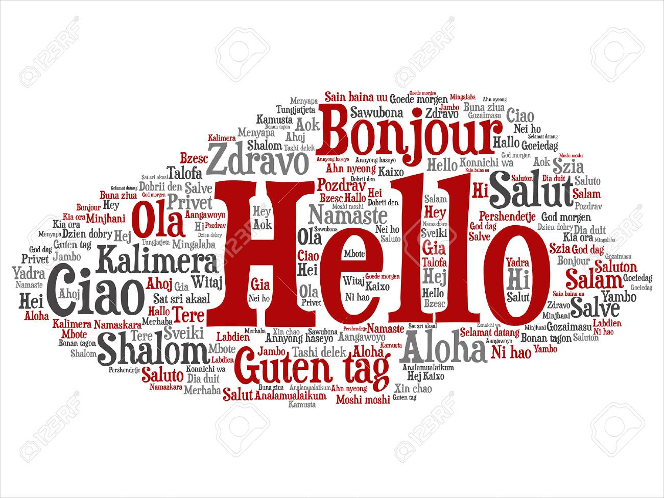 Conceptual abstract hello or greeting international word cloud conceptual abstract hello or greeting international word cloud in different languages stock vector 84141642 m4hsunfo