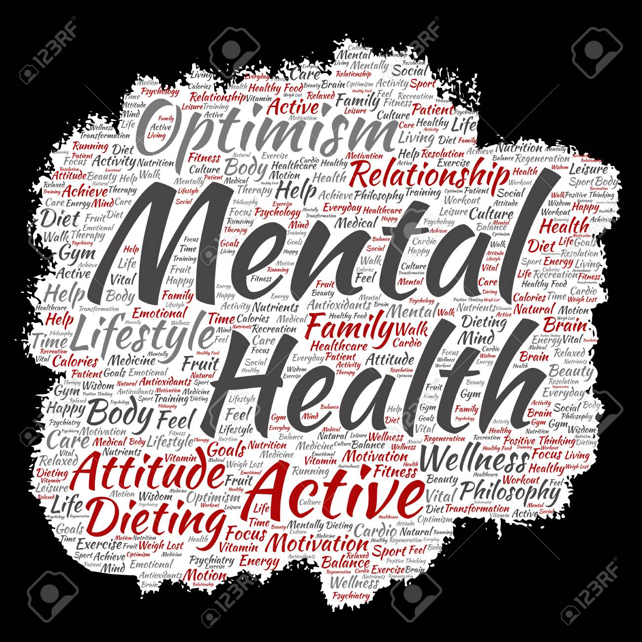 Mental Health Banner Royalty Free Cliparts Vectors And Stock Illustration Image 85650992