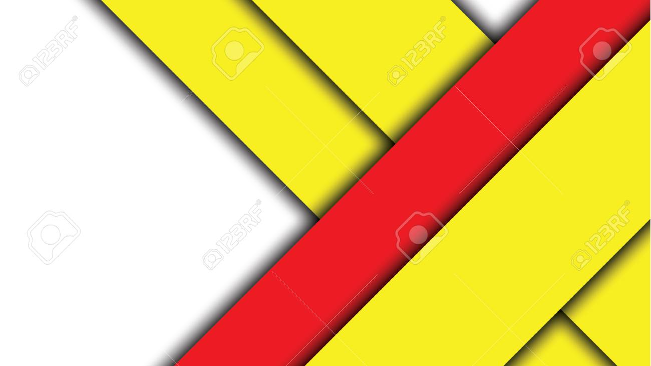 Red And Yellow Modern Material Design Vector Background Royalty Free Cliparts Vectors And Stock Illustration Image 60258482