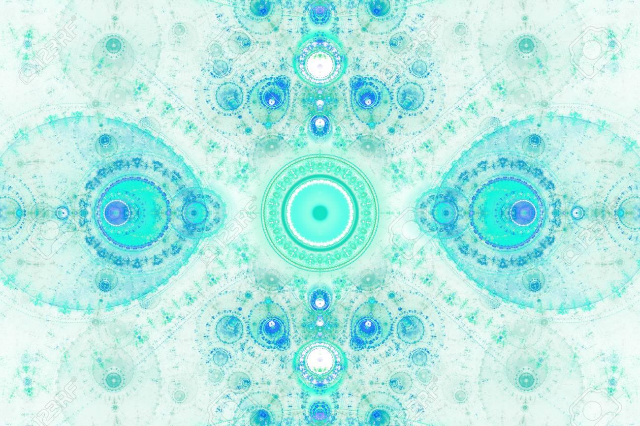 フラクタル幾何学的形状は、空想...
