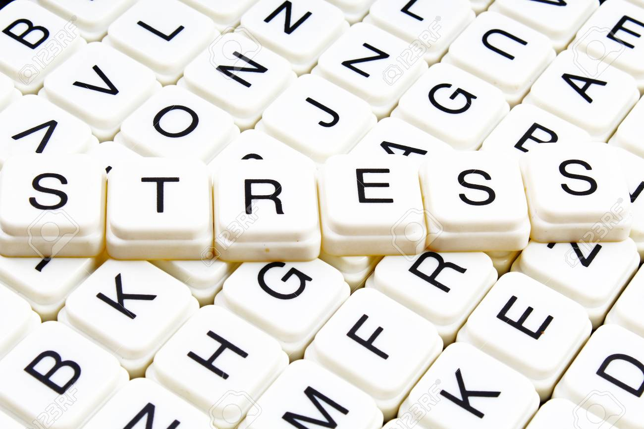 Stress Title Text Word Crossword Alphabet Letter Blocks Game