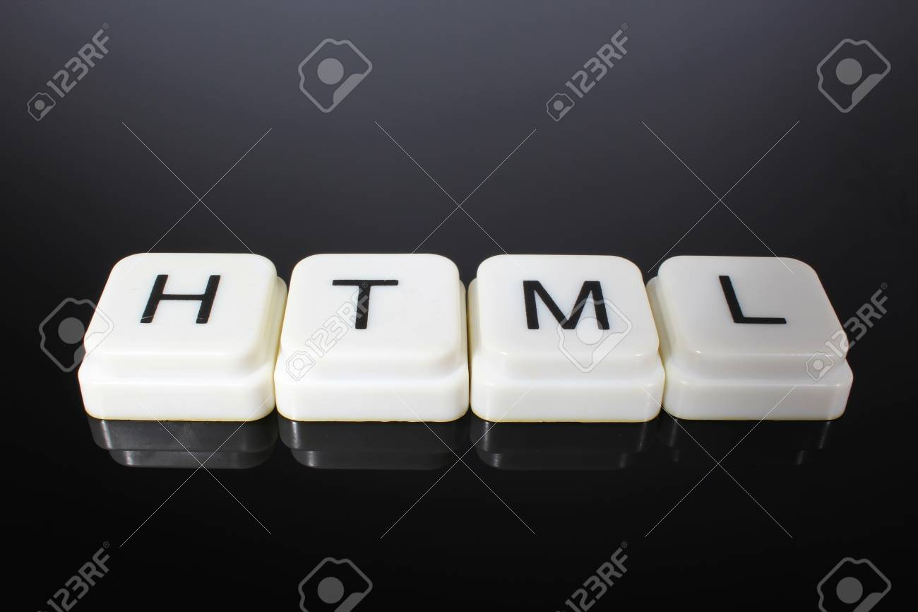Html Text Word Title Caption Label Cover Backdrop Background Stock Photo Picture And Royalty Free Image Image 105343800
