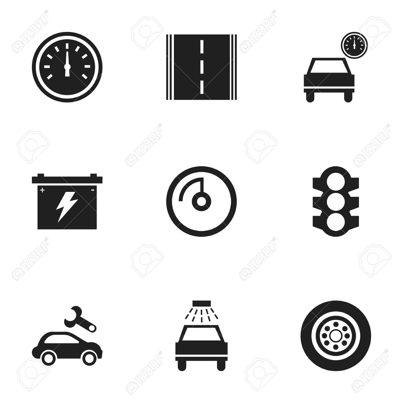 Wunderbar Automobile Elektronische Symbole Ideen - Elektrische ...