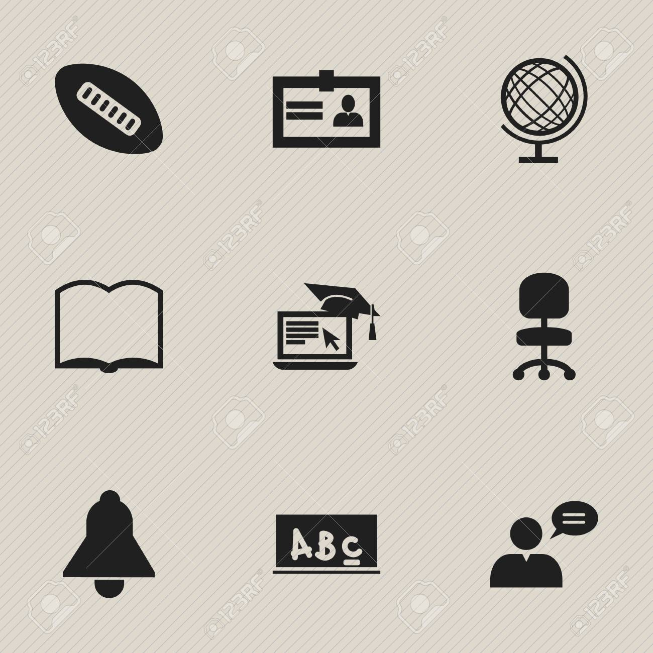 Set of 9 editable science icons includes symbols such as includes symbols such as certification book earth 1betcityfo Image collections