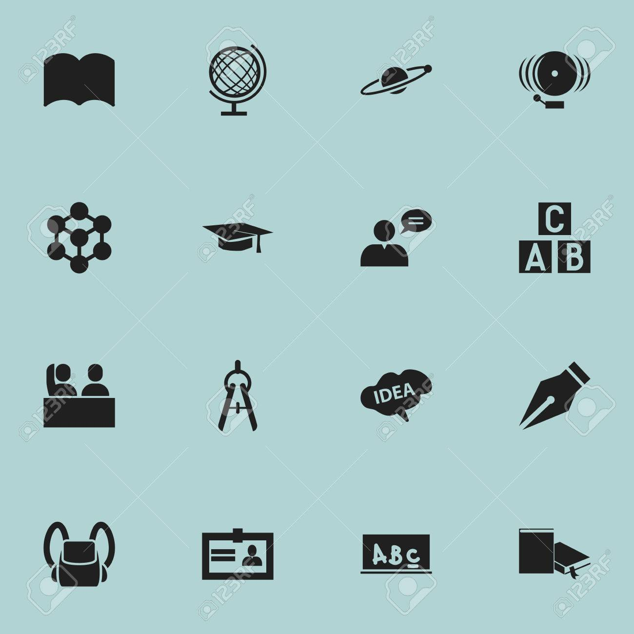 Set of 16 editable science icons includes symbols such as includes symbols such as certification math tool 1betcityfo Image collections