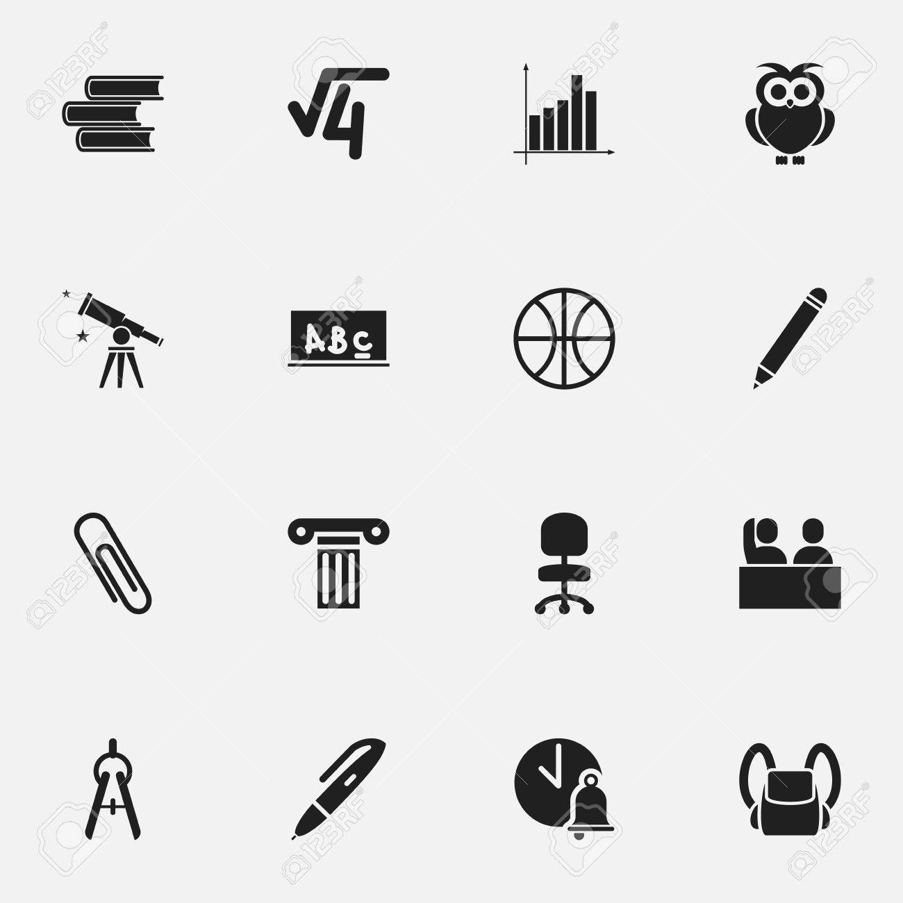 Set of 16 editable university icons includes symbols such as math set of 16 editable university icons includes symbols such as math root library biocorpaavc Images