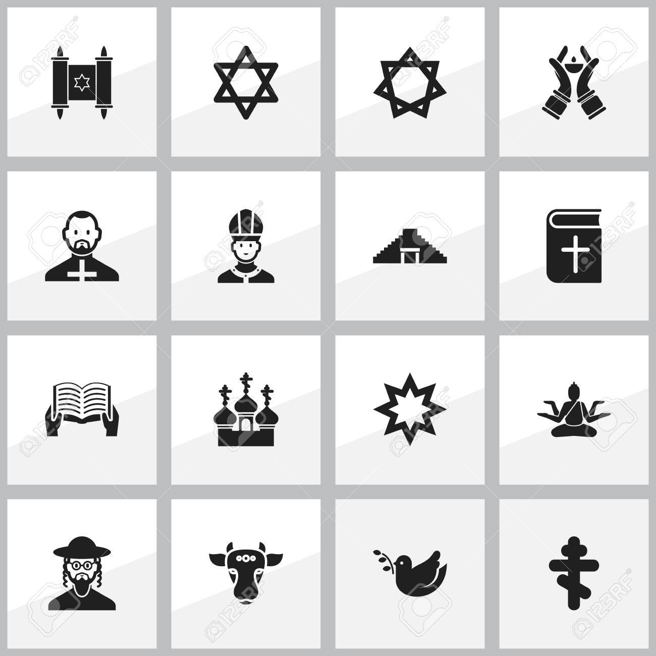 Set of 16 editable faith icons includes symbols such as religious set of 16 editable faith icons includes symbols such as religious sewn holy bull biocorpaavc